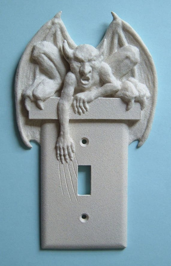 Gargoyle Decor Light Switch Plate Wall Cover Toggle
