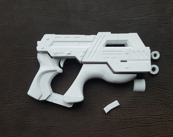 Mass Effect M-6 Carnifex Hand Cannon 3D Printed Replica Kit