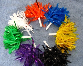 Cheerleading Pom-Poms Made for American Girl Doll, Wellie Wisher or other 14 to 18 inch dolls! Also Dance Team or just Cheering at the Game!