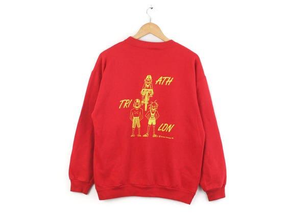 90s — JOOP! Logo Spellout — Vtg Sweatshirt Jumper Pullover Raglan Blouse — Medium M — Rare European Vintage Fashion 古着 Sportswear Streetwear FtUuilCQQg