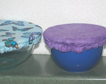 Butterfly Bowl Covers, Set of Three