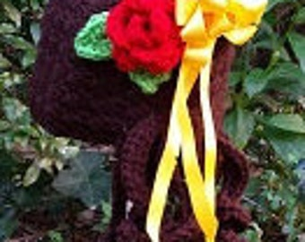 PATTERN   Crochet Hat Pattern fit for a PRINCESS