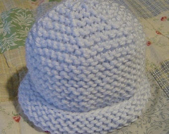 Classic French Baby Hat Pattern, Fast and Easy, PDF
