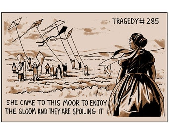 Tragedy 285: Gloomy Moor Print