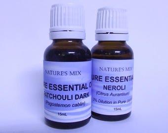 Pure Patchouli Dark Essential Oil **15mL**