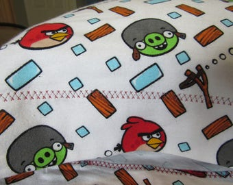ANGRY  BIRDS,  Pillow Case,  Standard Size