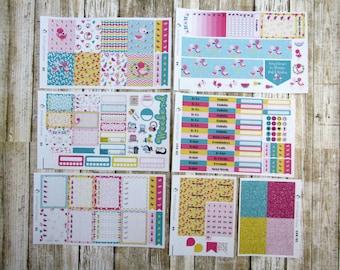Pink & Fabulous Flamingo Weekly, ERIN CONDERN, Flamingo Weekly, tropical weekly