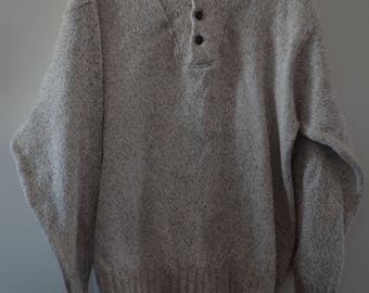 Get 15% off with code NEW15 sweater round neck with buttons 90's M/L *.