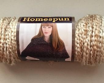 Lion Brand Homespun Yarn PEARLS - New - 80% Full Skein - 2.50 - #5 Bulky - Crochet - Knit