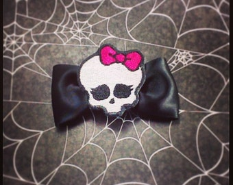 Monster High Skullette Hair bow
