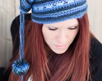 The Slouchy Cowl Crochet PDF Pattern - a cowl that converts into a slouch hat