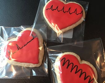 Cardiac Rhythm Cookies Dozen