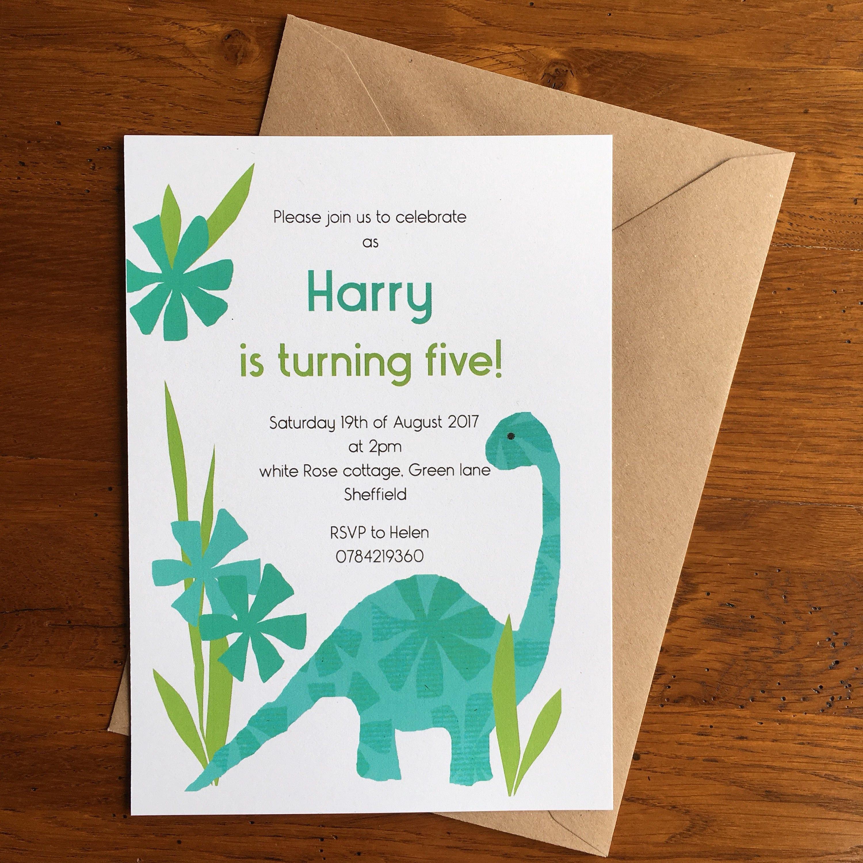 Printable personalised birthday invitation, Kid\'s birthday party ...