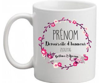 Maid of honor (or other) ceramic MUG