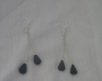 The Little Black Dress........Handmade Earrings