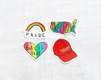 Gay Pride Sticker Pack