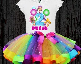 Bubble Guppies Birthday Tutu - Bubble Guppies Tutu