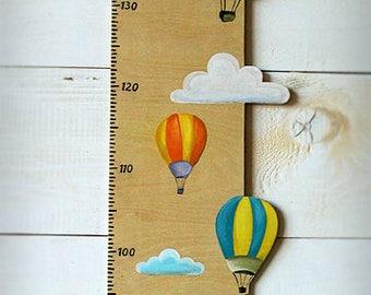 Kids meter, wooden, handmade