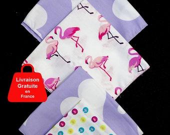 Fabric tissues 27 x 27 cm (set of 5)