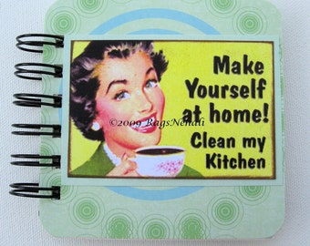 Retro - Make yourself at home - Post It Note Holder Planner
