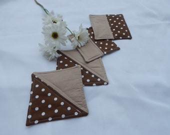 Hand-Quilted Coasters