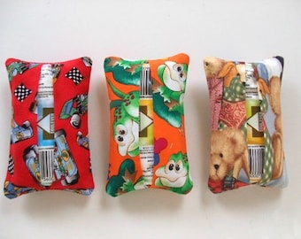 Tissue Holders - For Grandparents, Aunts, Uncles -- Set of 3
