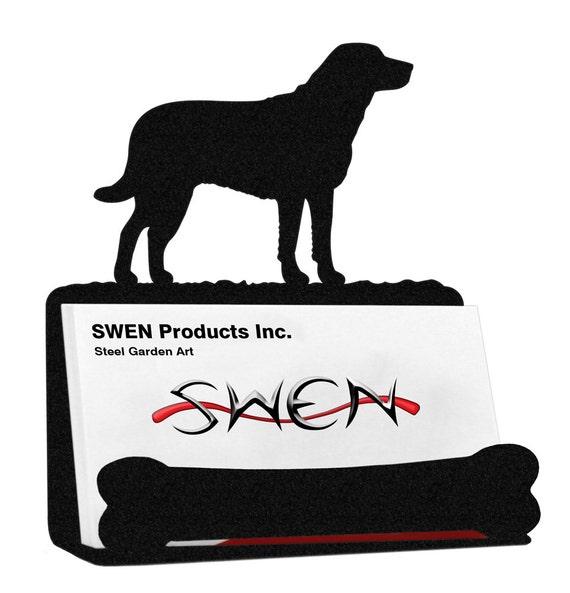 Chesapeake bay dog metal business card holder reheart Gallery