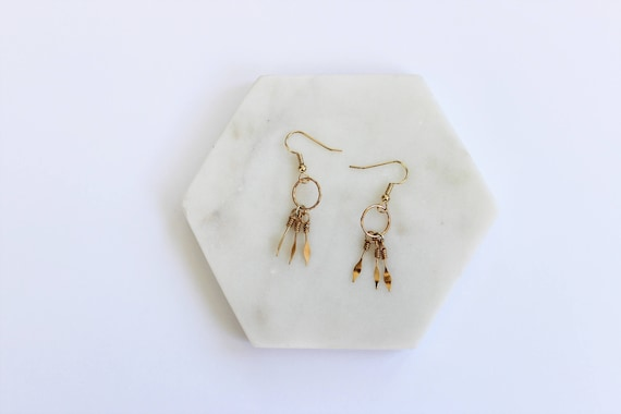Minimal Boho Wire Earrings II