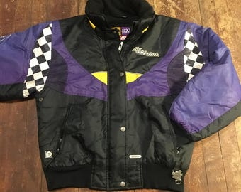 1990s Fleece Ski-Doo Jacket // SZ L