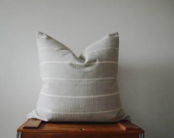 THE BOSTON 20x20 Square Pillow Cover