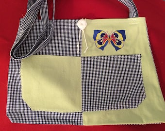 Handmade tote bag, Handbags, Tote Bags, Accessories, Purses, Pocketbooks,