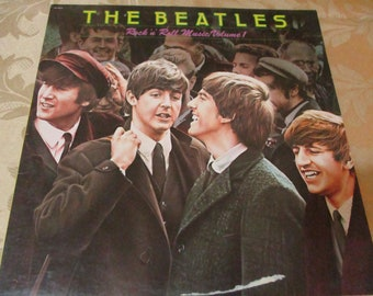 1980 Vintage LP Record Rock N Roll Music Volume One The Beatles Excellent Condition 16538