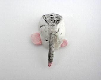 Elefante porcelana