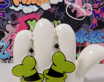Disney's Goofy Hat Dangle Earrings