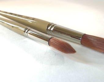Paint Brushes - Watercolor Brush Set - Artist's Tools - Artist Paint Brushes - Gift for Artists - Artist Supplies - Watercolor Paint