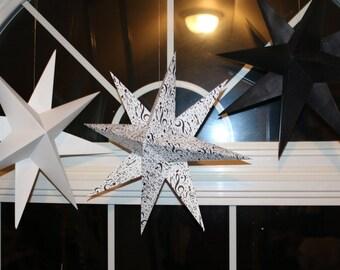 custom Hanging paper stars