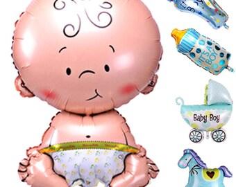 Baby Shower Boy Foil Balloon