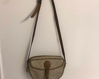 vintage coated women's crossbody bag