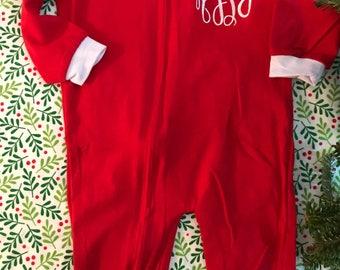Christmas pajamas w/ butt flap!