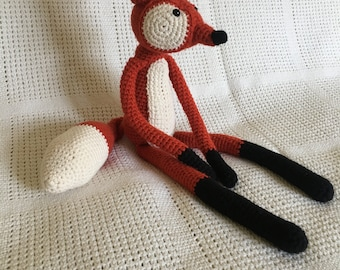Fantastic Fox crochet toy