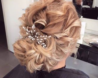 Wedding Hair Accessory, Beaded Hair pin, Wedding Hair Accessories, Hair Piece, Formal Hair Piece