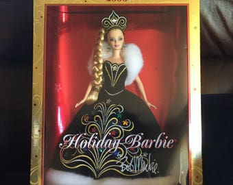 Collection of 10 Holiday Barbies