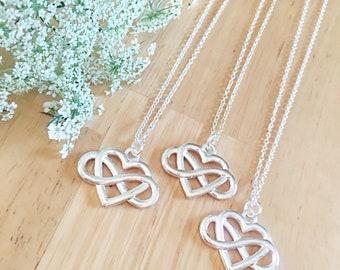 SET OF 3 Friendship Necklaces Custom Friend Necklaces 3 Friend Gift Customized Friendship Jewelry Best Friend Necklace Best F
