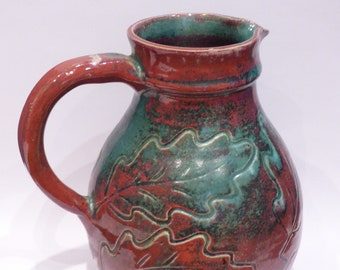 Vintage 1950s/60s ACCOLAY * Chablis wine pitcher