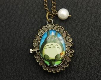 Totoro Necklace, Totoro Watch