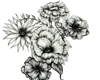 Floral Ink III download