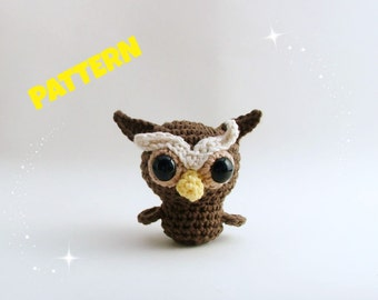 Amigurumi Owl Pattern, Crochet Owl Pattern, Crochet Amigurumi Pattern, Crochet Doll Pattern, Amigurumi Doll Pattern, Amigurumi Patterns