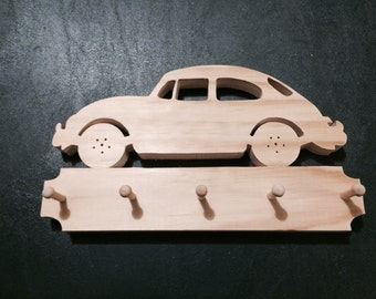 VW Bug Wall Key Chain Holder