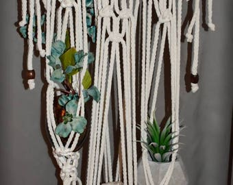Macrame Wall / Window Hanging