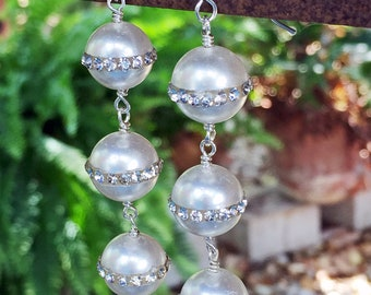 Stellar Pearl Earrings